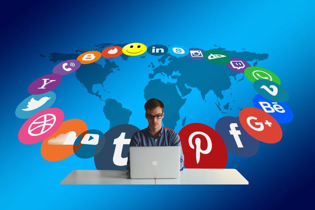Social Media Design Alpha Square